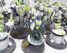 Tau in Green and White