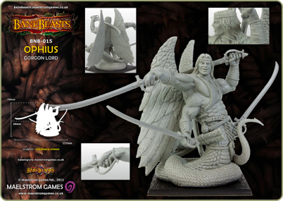 Ophius, Gorgon Lord, part 1 of 2