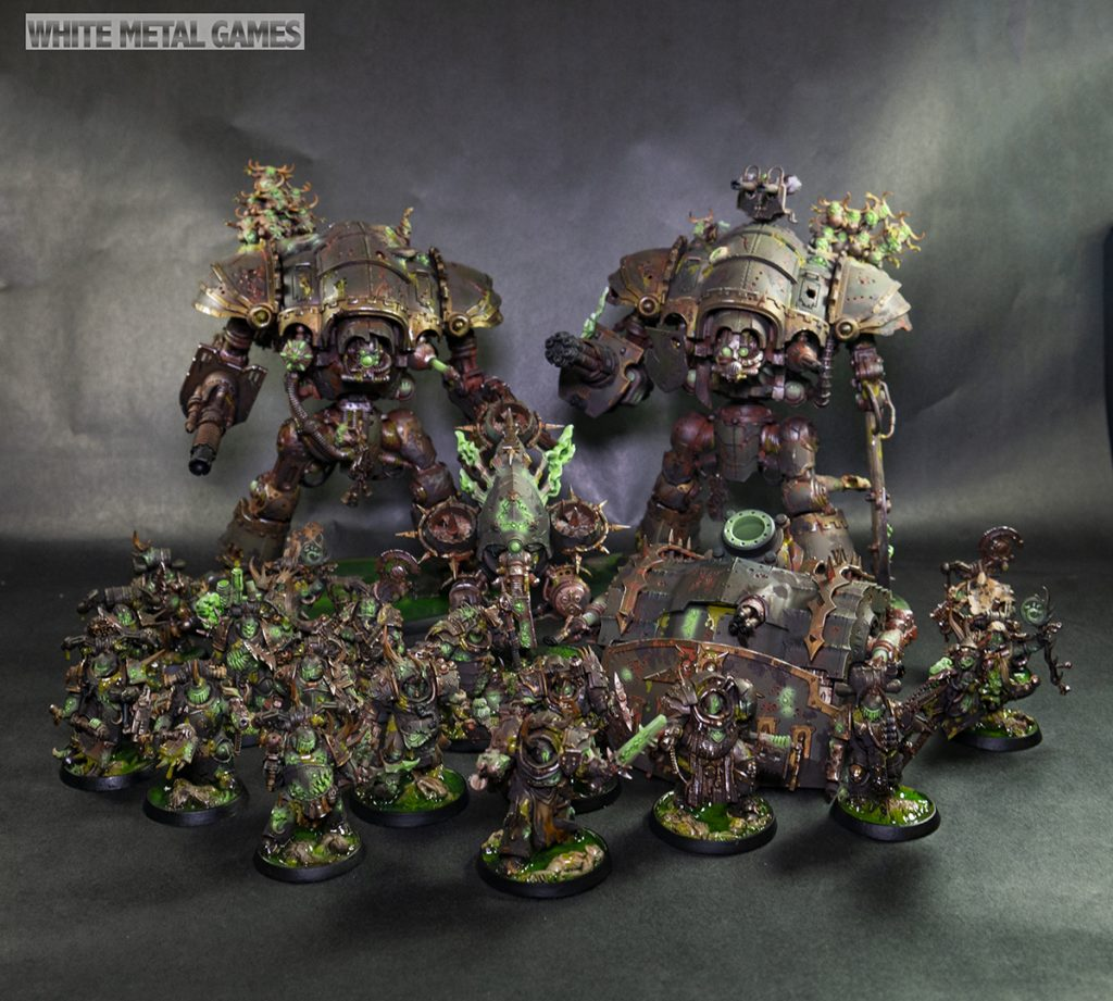 Deathguard Infection Cluster - 1